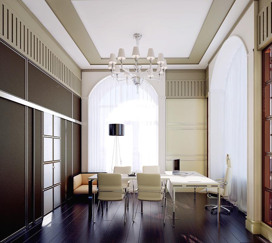 Дизайн проект интерьера офисного помещения