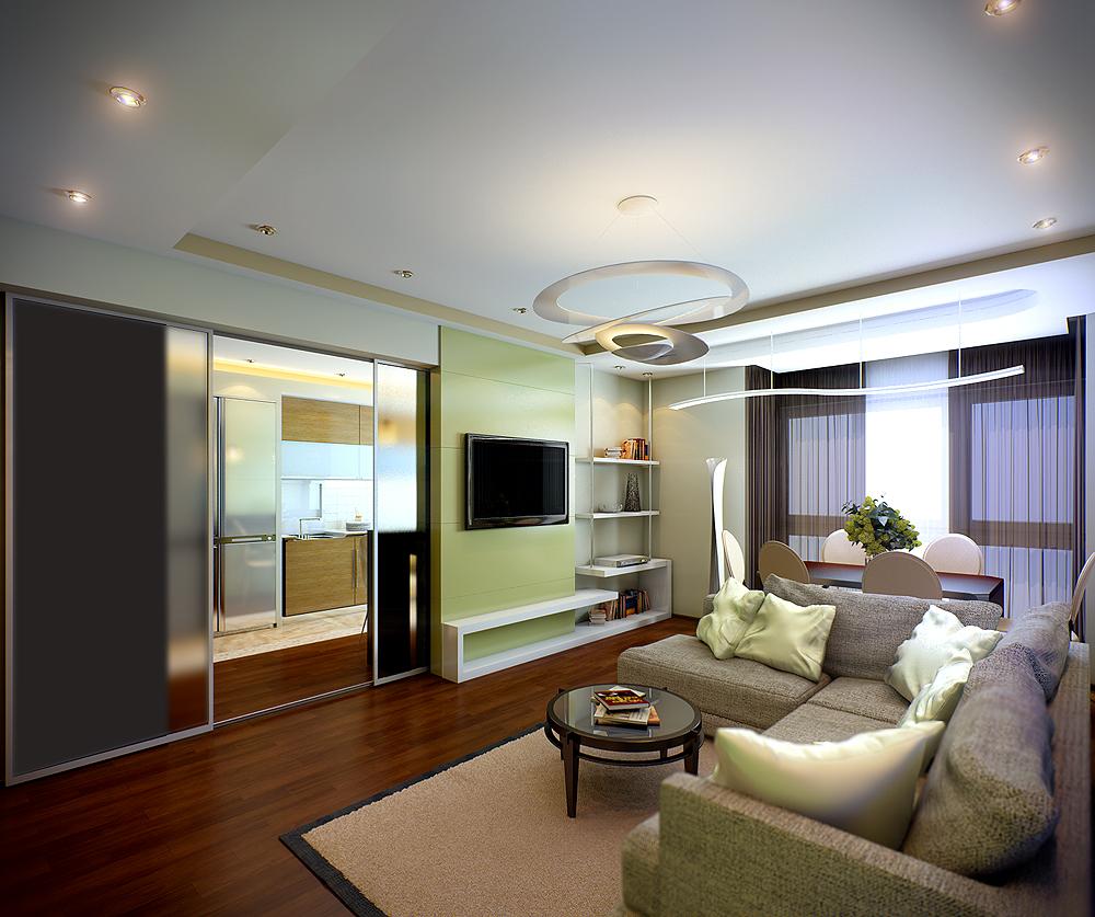Дизайн проект интерьера квартиры 120 кв.м.