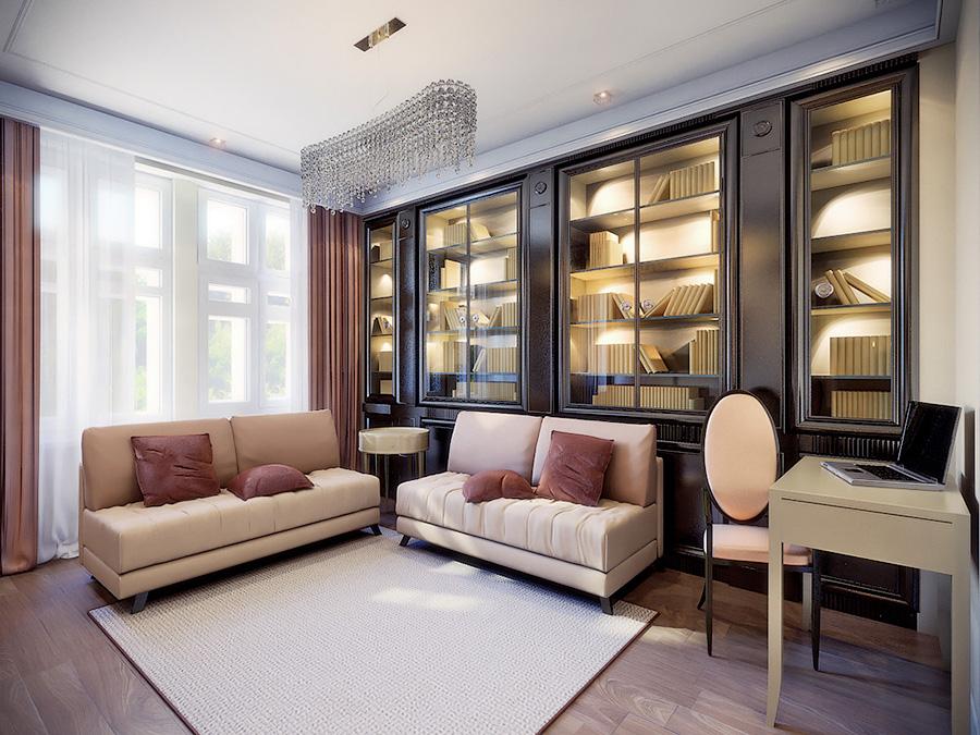 Дизайн проект квартиры 86 кв.м.